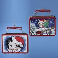 boop ornament mini lunch box