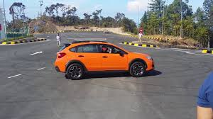 subaru suv 2016 crosstrek subaru crosstrek xv test drive rules and demo malaysia 2016