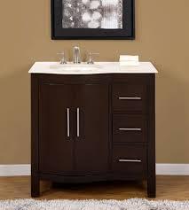 off center sink bathroom vanity bathroom 36 inch marble top bathroom vanity off center left side