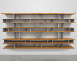 minimalist wall mounted bookshelves for interior optimization