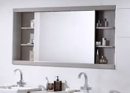 Large Bathroom Mirror With Shelf | bathroom ideas large bathroom mirror with shelf above double sink