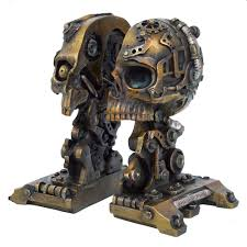 cranial steam steampunk book ends 27 19 angel clothing