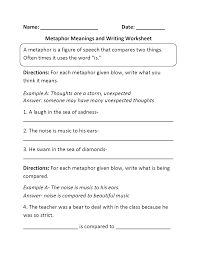 englishlinx com metaphors worksheets