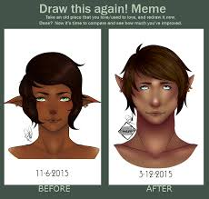 Proud Face Meme - draw this again meme staring elf boy by prouds art on deviantart
