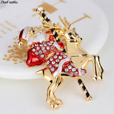 aliexpress com buy gold brooches for women men christmas