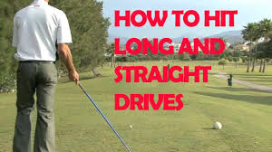 golf how to hit long and straight drives youtube