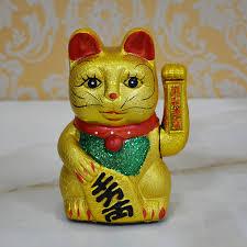 buy japanese pharmacist kiln electric waving lucky cat ceramic