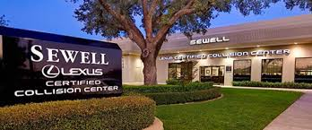 lexus sewell fort worth sewell collision repair center serving dallas houston