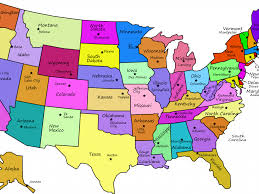 Usa Map With Capitals And States by Download Map Usa States And Capitals Major Tourist Attractions Maps