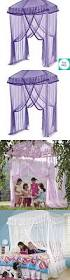 Purple Bed Canopy Curtains Childrens Bed Canopy Wonderful Net Curtains Ebay Kids