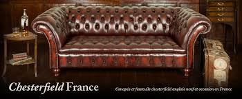 canapé chesterfield occasion canapés occasion chesterfieldfrance com