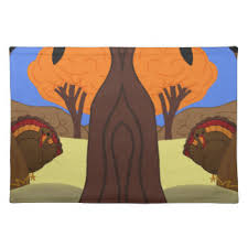 turkey placemats thanksgiving turkey placemats zazzle