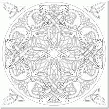 coloring pages celtic knots coloring home