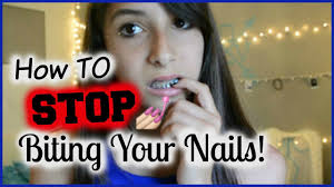 picking easy items for how stop biting nails 10 ways to stop biting your nails youtube