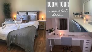 Minimalist Decor by Room Tour 2017 Minimalist Decor Youtube