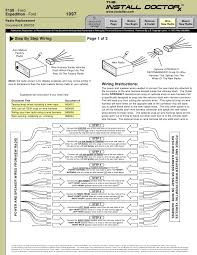2000 ford f 150 wire harness ford wiring diagrams for diy car