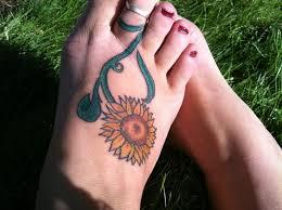 30 best sunflower tattoos designs images on pinterest ideas
