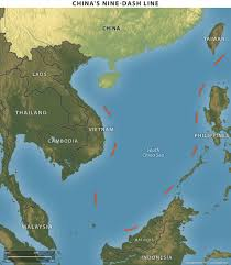 South China Sea Map Beijing U0027s Military Threats In South China Sea Worrying For Companies
