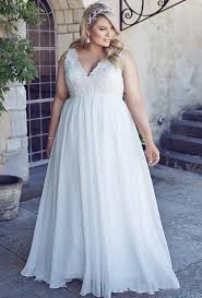 plus size wedding dresses with pockets stunnng plus size wedding dresses 2016 chiffon garden a line