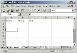 Create An Excel Spreadsheet Excel Odbc Connection