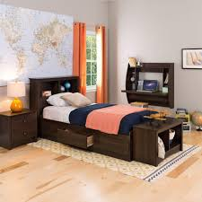 Twin Size Bed And Mattress Set by South Shore Zach Twin Storage Bed 3569080 The Home Depot