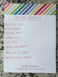traditions to do list mix and match