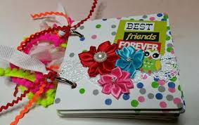 best friend photo album tphh premade best friends forever coaster scrapbook album by