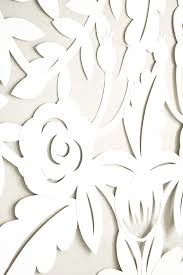 wedding backdrop design template diy papercut leaves backdrop ruffled