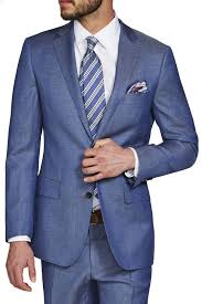 marlo light blue jacket blazers