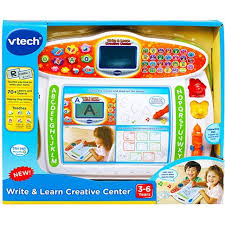 vtech write and learn desk vtech write learn creative center alphabet tracing letters