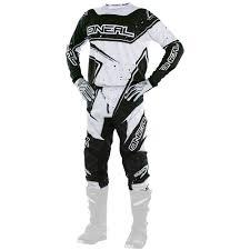 junior motocross gear oneal 2017 new mx youth element bmx black white kids motocross