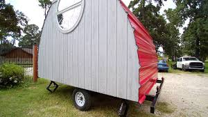arched cabins tiny house on wheels youtube
