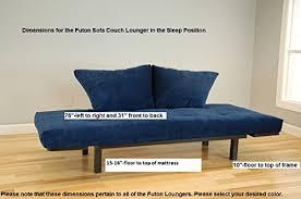 best futon lounger versatile positions sit lounge sleep