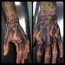 robcastaldo skeleton hand tattoo made with theformula fiftyone