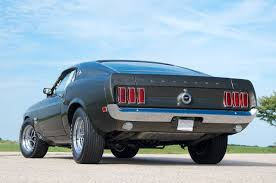 1969 mustang rear stunning 1969 ford mustang 429 going up for auction