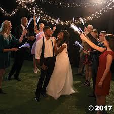 wedding wands lighted fiber optic wands
