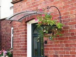 House Canopies And Awnings Arched Glass Canopy Awning Check Out The Awning We Made