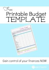 printable budget planner template free free monthly budget template frugal fanatic