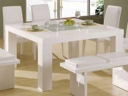 White Kitchen Table With Bench Milton White Dining Table And - White kitchen table with bench