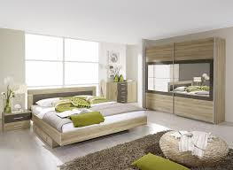 chambre a coucher chene massif moderne chambre adulte contemporaine chêne clair gris venilia chambre