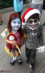 Sally Halloween Costumes Jack Sally Kids Halloween Costumes