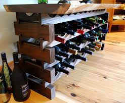 Dining Room Table With Wine Rack by Wine Rooms U2014 Newwoodworks