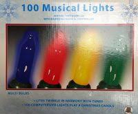 awesome picture of christmas lights music controller music
