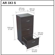 Wood Filing Cabinet 3 Drawer by Cabinet Amusing 3 Drawer File Cabinet Office 3 Drawer File