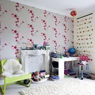 attic pink bedroom ideas for stunning girls bedroom wallpaper