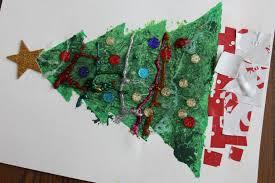 christmas tree stencil art i can teach my child
