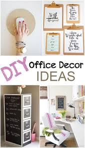 Diy Office Decorating Ideas 25 Best Diy Office Design Images On Pinterest Desk Ideas Office