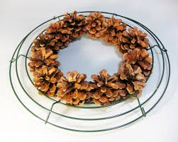 another bright idea pine cone wreaths a tutorial fall
