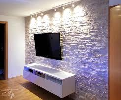 echte steinwand im wohnzimmer 2 wohndesign kleines moderne dekoration steinmauer wohnzimmer