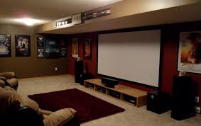 My Awesome Basement - basement entertainment theatre man cave room lots of good